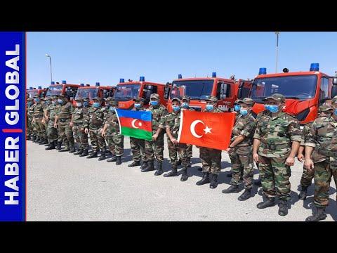 Azerbaycan'dan Türkiye'ye Yardıma Gelen Ekiplerle İlgili Açıklama