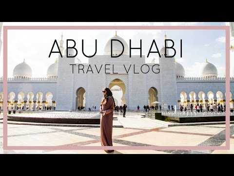 ABU DHABI TRAVEL VLOG – Grand Mosque, Ferrari World and more | Heels on the Go