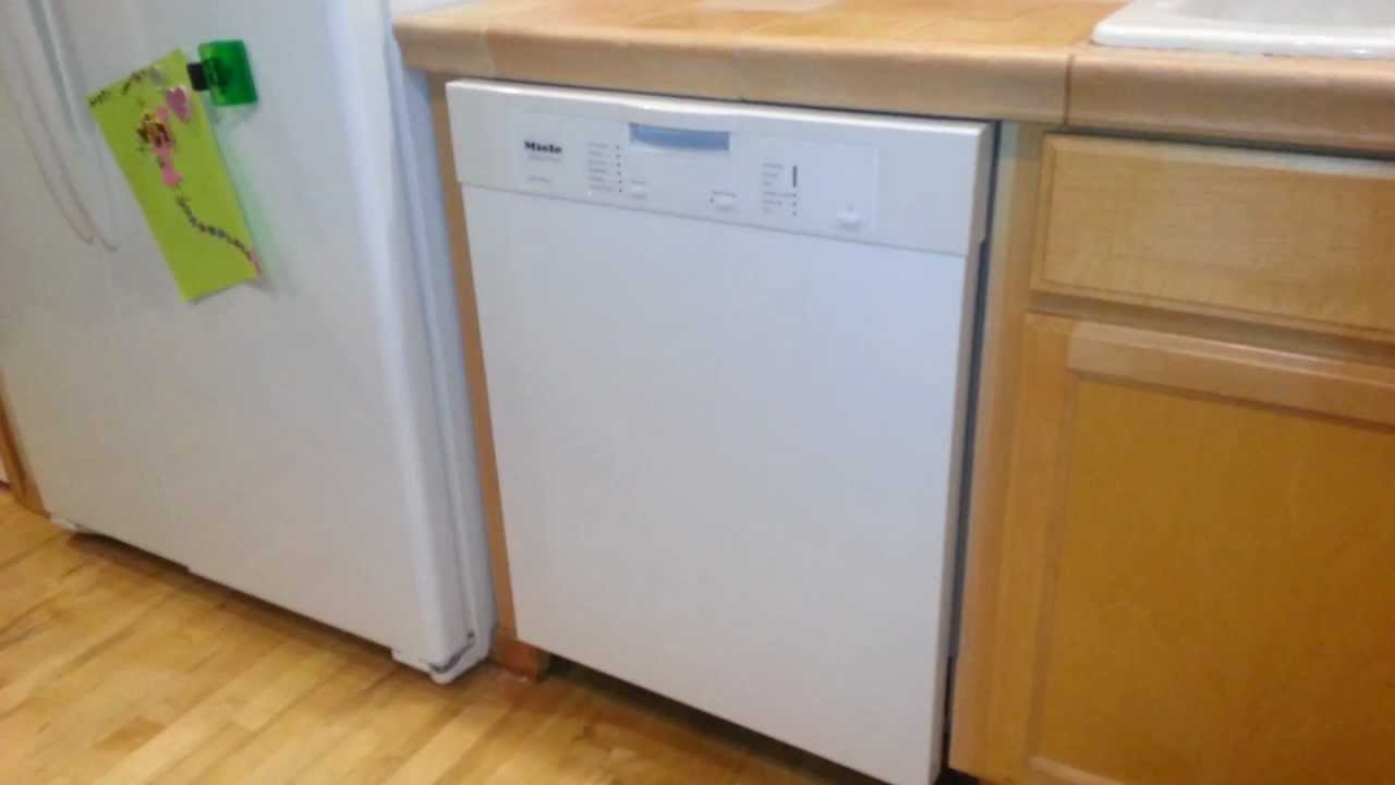 miele g4205scu dishwasher installation thoughts and review youtube rh youtube com miele optima dishwasher manual f11 miele optima dishwasher installation manual