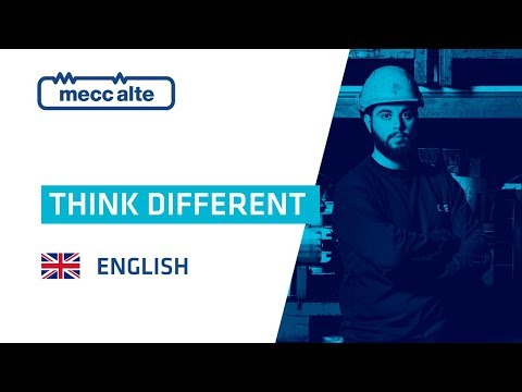 Mecc Alte Presentation Video: think different