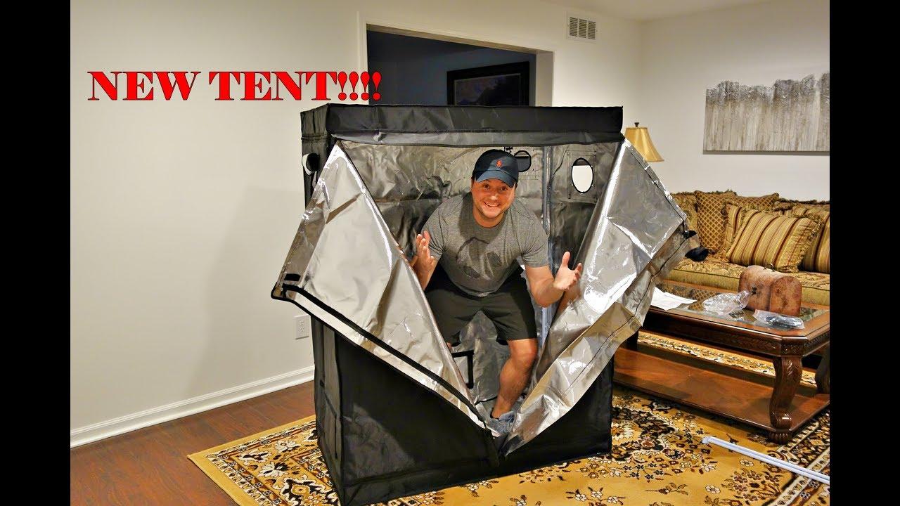 12/27/17 New Indoor Grow Tent (Setup) & 12/27/17 New Indoor Grow Tent (Setup) - YouTube