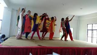 73th Independance Day is celebrated by the 7th Class with this patriotic performance.