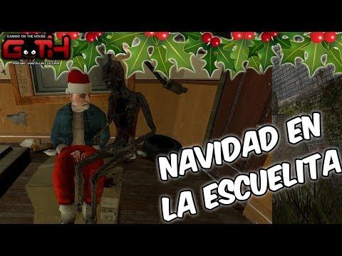 LA NAVIDAD EN LA ESCUELITA! GMOD en Español - GOTH