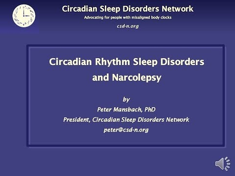 Circadian Rhythm Sleep Disorders and Narcolepsy