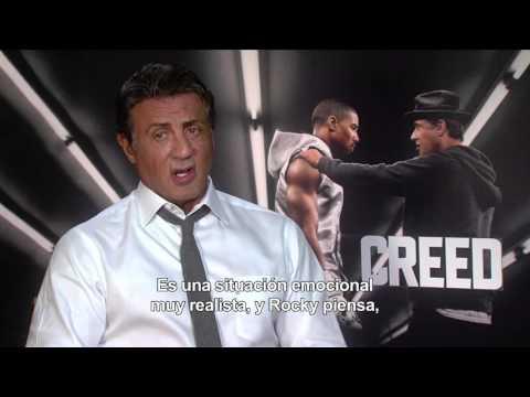CREED. La Leyenda de Rocky - Entrevista a Sylvester Stallone HD