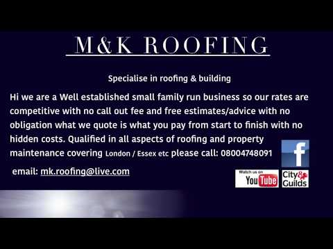 M&K ROOFING GRP Fibreglass cure it system Call for a free quote 08004748091