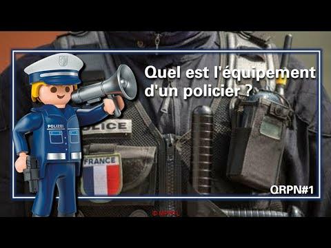 Questions/Réponses Police Nationale - Épisode 1 : Quel est l'équipement d'un policier ?