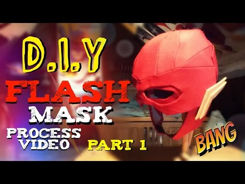 How to Make A DCEU Flash Mask | Process Video | Part 1