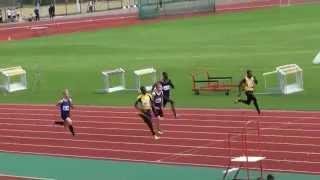 2014 Southern Champs U17m 100m
