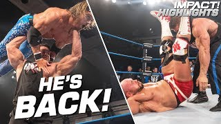 Brian Cage RETURNS and Goes on a Rampage!   IMPACT! Highlights June 21, 2019
