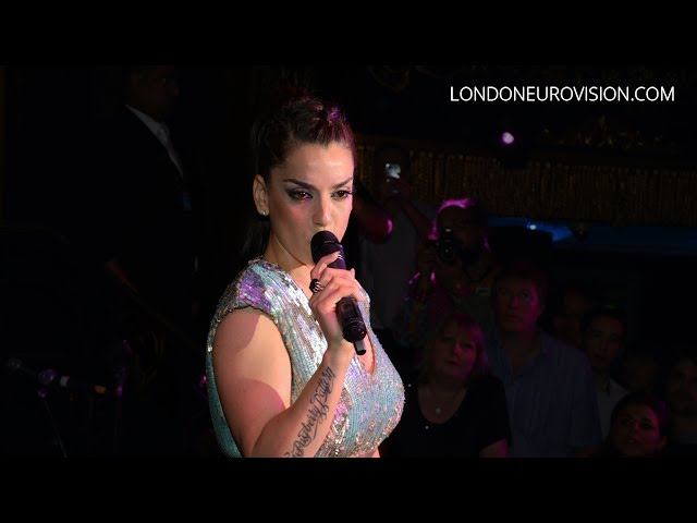 Ruth Lorenzo - Dancing In The Rain (Spain) LIVE at the London Eurovision Party 2014