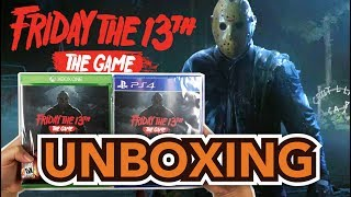 Friday the 13th: The Game(PS4/Xbox One) Unboxing !!