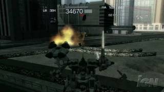 Armored Core 4 Xbox 360 Preview - Serious Action