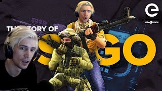 Xqc Reacts To Andquotthe Story Of Csgo The Game That Never Diesandquot By Thescore Esports