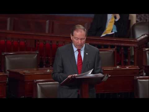 Tom Reads from Coretta Scott King Letter in Opposing Jeff Sessions for Attorney General