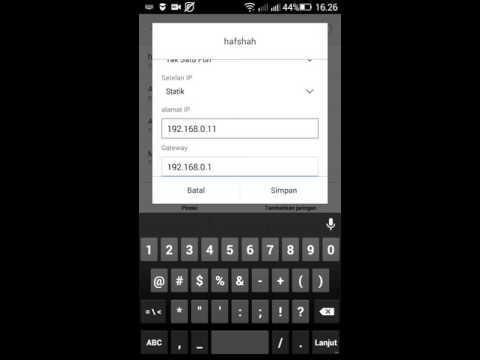 cara memperbaiki jaringan wifi di android yang tidak bisa terkoneksi dengan internet