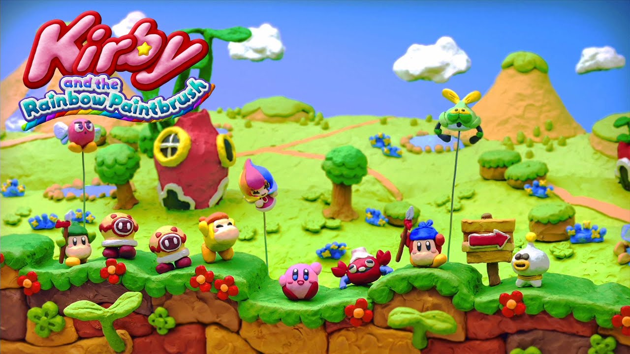 kirby and the rainbow paintbrush wii u recenzja