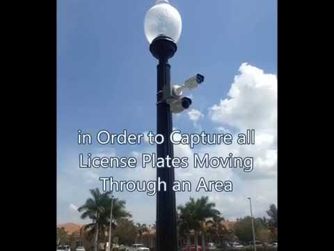 Licence Plate Reader Video Camera West Palm Beach