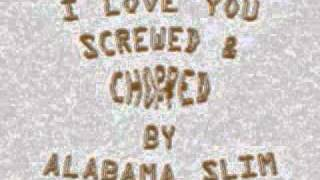 I Love You Faith Evans Screwed & Chopped By Alabama Slim