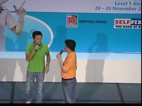 Emcee Chris Co-host With MediaCorp Artist Bryan Wong