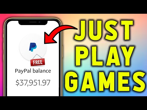 Get FREE PayPal Money Just To Play GAMES! (Make Money Online As a Kid or Teenager)