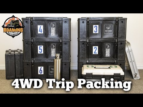 Packing – 4WD Outback Travel Trip Preparation 1/3