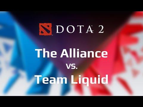 The Alliance vs Team Liquid Game 1 - WCA 2015 Finals - @TobiWanDOTA @DotaCapitalist