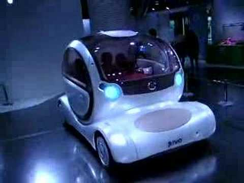 Nissan Pivo Concept Car From 2005 Youtube