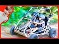 NEW MONSTER TRUCK GO-CART For MONSTER HUNTING! (POND MONSTER)