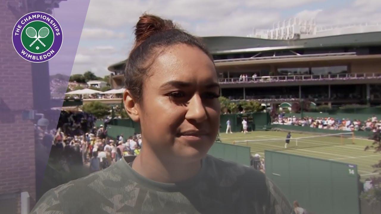 Wimbledon 2019: Heather Watson through to second round