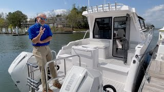 ArrowCat 320 Coupe Express Cruiser Power Catamaran