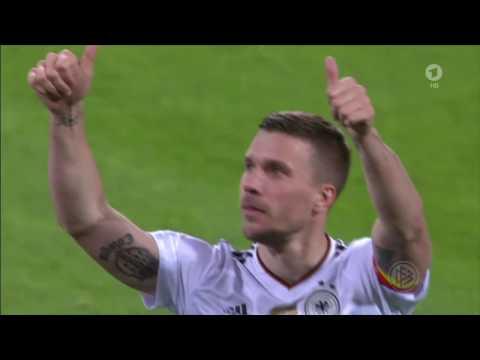 Lukas Podolski Abschiedsspiel mit Tor Beste Szenen alle Einspieler, Beste Sprüche