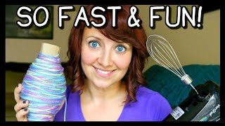 How To Roll Yarn Into A Ball FAST! | Crochet & Knitting Tips! 📍 How To With Kristin