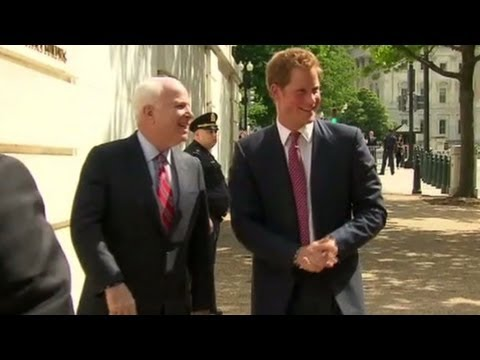 Prince Harry begins U.S. tour in D.C.