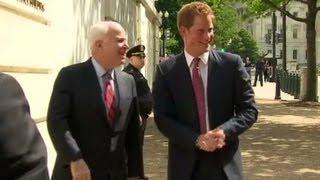 Prince Harry begins U.S. tour in D.C.