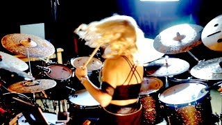 Kiske/Somerville - City of Heroes - Veronika Mraz (Lukesova) Drum Play Through