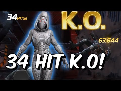 5 Star 5/65 Ghost VS Realm Of Legends Winter Soldier - 34 Hit K.O - Marvel Contest Of Champions