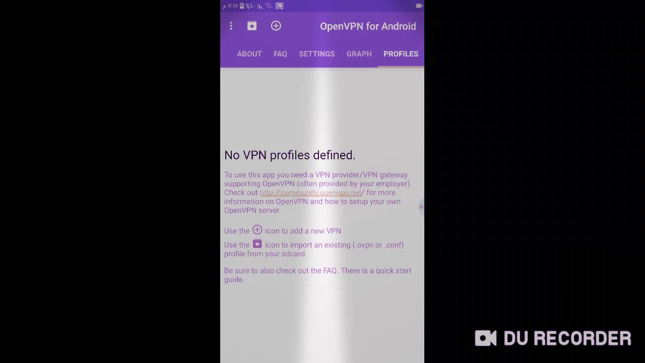 تفعيل korea vpn عبر برنامج open vpn for android