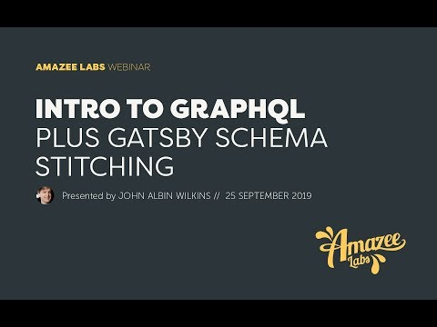 Intro to GraphQL plus Gatsby Schema Stitching thumbnail