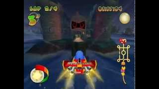 Pac-Man World Rally {PC Version} Playthrough-Part 3-Watermelon Cup{Easy Mode}.wmv
