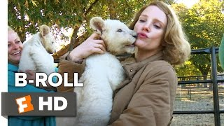 The Zookeeper's Wife B-ROLL 1 (2017) - Jessica Chastain Movie