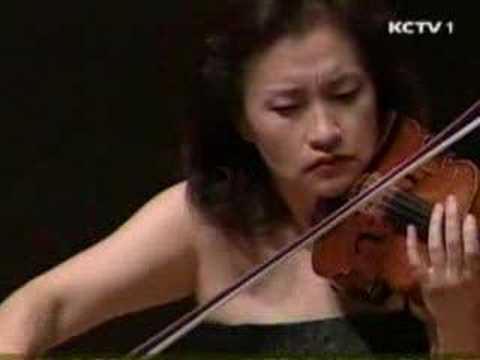 Kyung Wha Chung plays Grieg violin sonata No.3 (1st Mov)