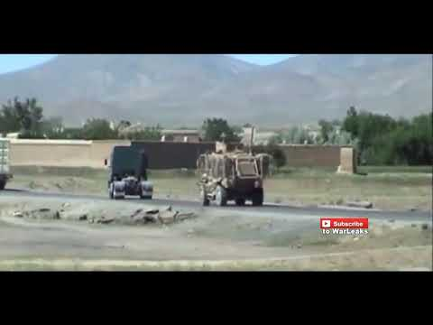 US ARMY CONVOY BLOWN UP BY (IED) BOMB IN IRAQ !!!