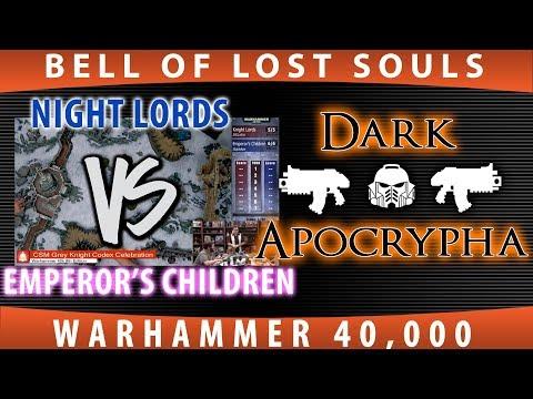 40K: Chaos Codex Celebration: Emperor's Children vs Night Lords