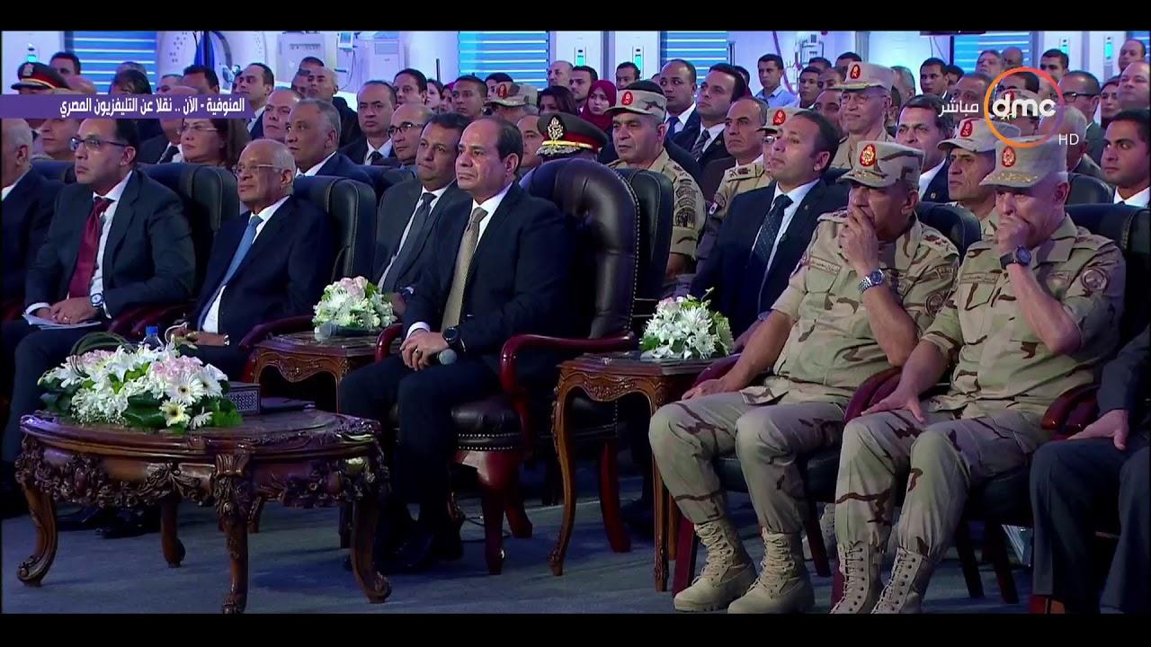 السيسي يمازح اللواء/ كامل