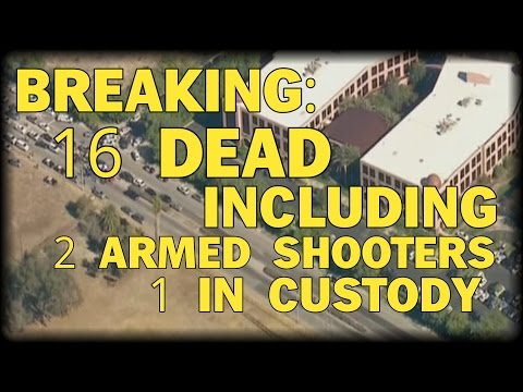 16 DEAD INCLUDING 2 SHOOTERS AFTER GUNMEN OPEN FIRE AT CALIFORNIA CONFERENCE CENTER - Farooq Saeed
