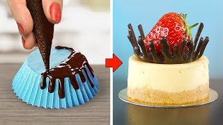 Delicious Chocolate Cake Hacks Ideas / How To Make Chocolate Cake Decorating Recipes