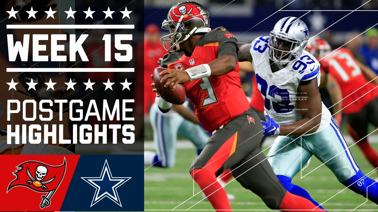 Buccaneers vs  Cowboys | NFL Week 15 Game Highlights