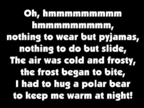 40 Days On An Iceberg Lyrics