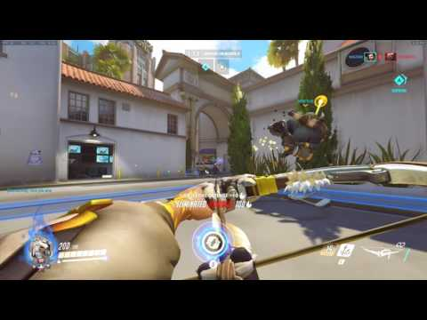 [Overwatch] Wazabi's Noob Hanzo In Quick Play